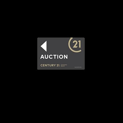Century 21 -  Selmax  Auction Arrow Signs(450 x 300mm)