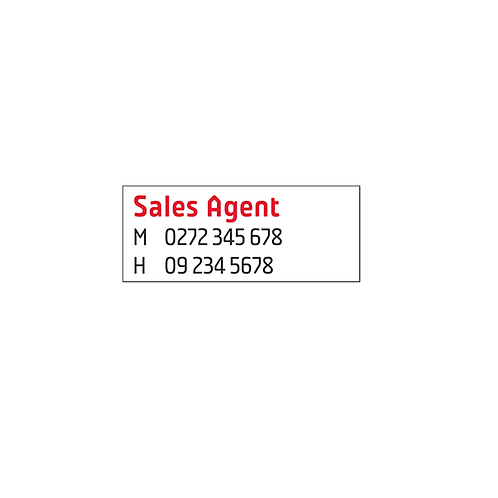 Professionals - Small Agents A/Hrs Overlay Stickers