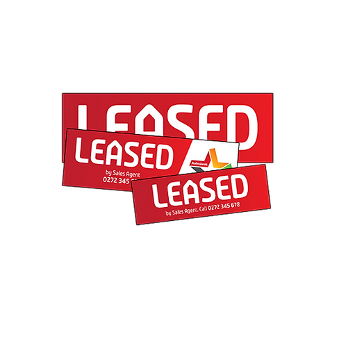 Professionals - Various Leased Stickers