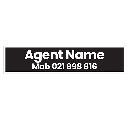 LJ Hooker -Agents A/Hrs Corflute Signs with Photo