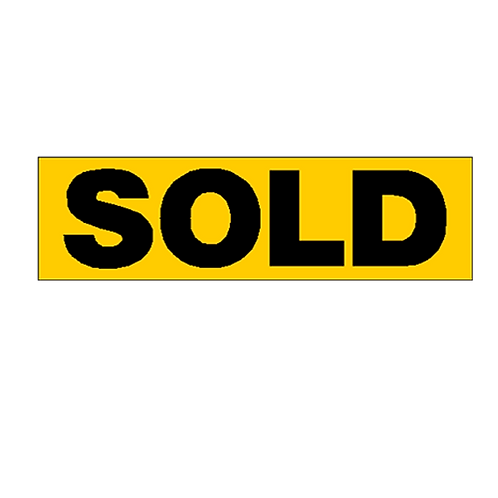 Generic Product - Sold Overlay Sticker (700mm x 200mm)