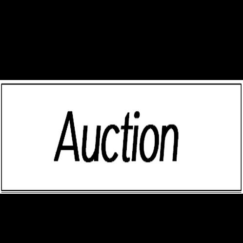 LJ Hooker - Auction Stickers(400mm x 100mm)