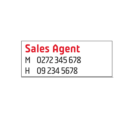 Professionals -  Large Agents A/Hrs Overlay Stickers