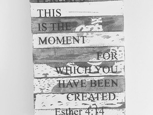 perhaps this is the moment