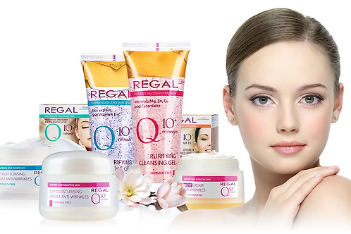 REGAL Q10+ for Normal to Dry type of skin