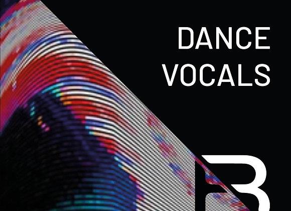 Dance vocal set (800 soundbites)