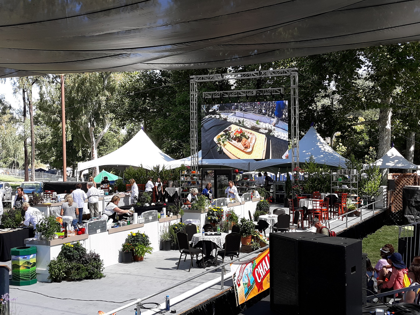 Gilroy Garlic Festival, Cook-Off Stage