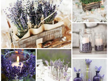Lavender theme wedding