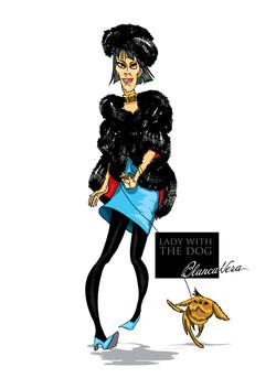 RUSSE STYLE Lady&Dog