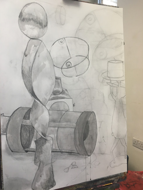 City Lit Week 5 -Drawing our own objects