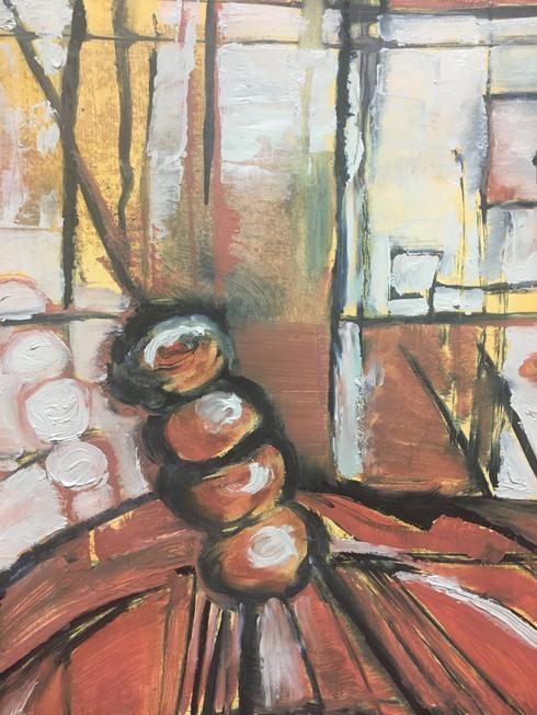 City Lit Fine Art Wk 9 - 3rd week of painting