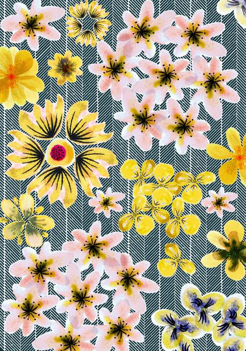 Fancy Floral - Blooms Between