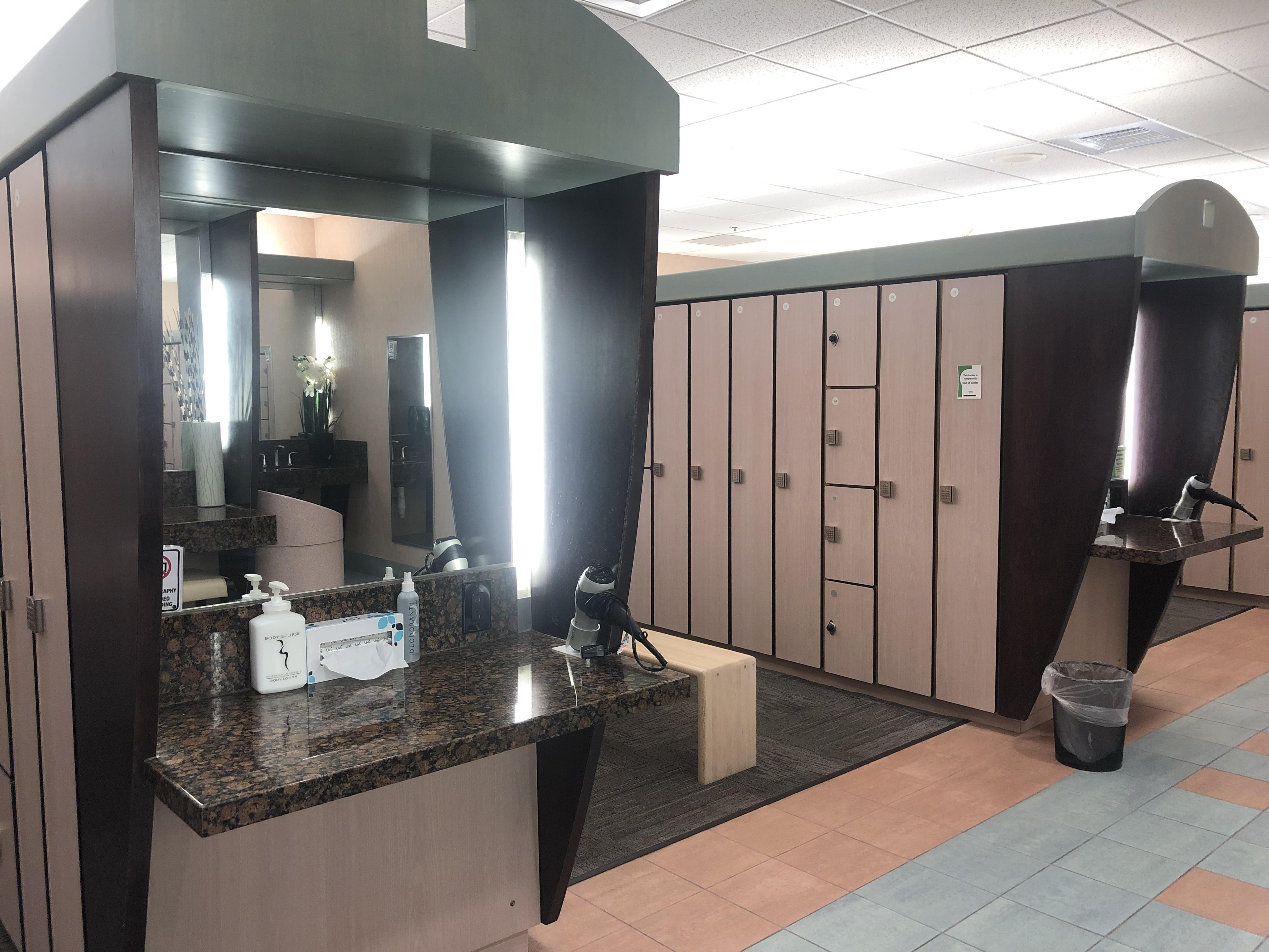 Women's Locker Room Single Vanity