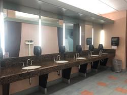 Women's Locker Room Sinks