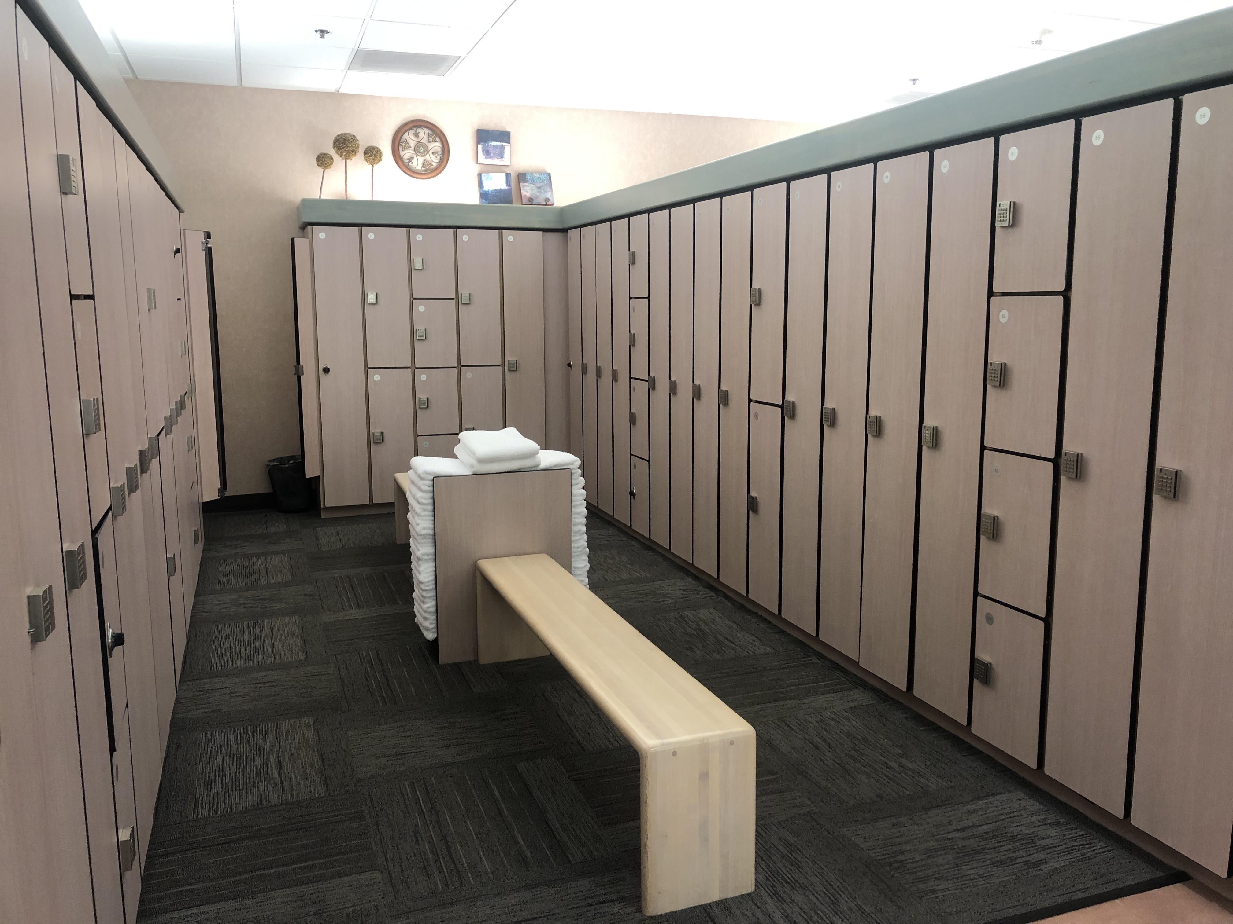 Women's Locker Room Lockers
