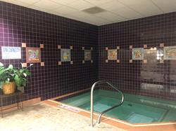 Women's Locker Room Hot Tub Spa