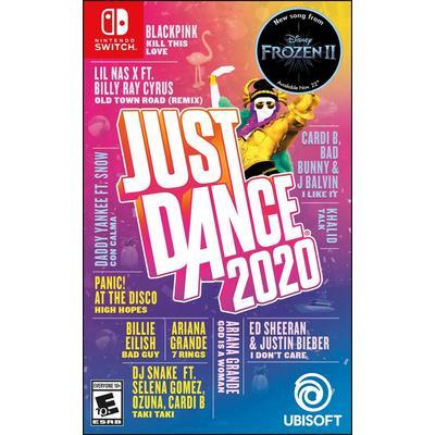 just dance 2020 e switch