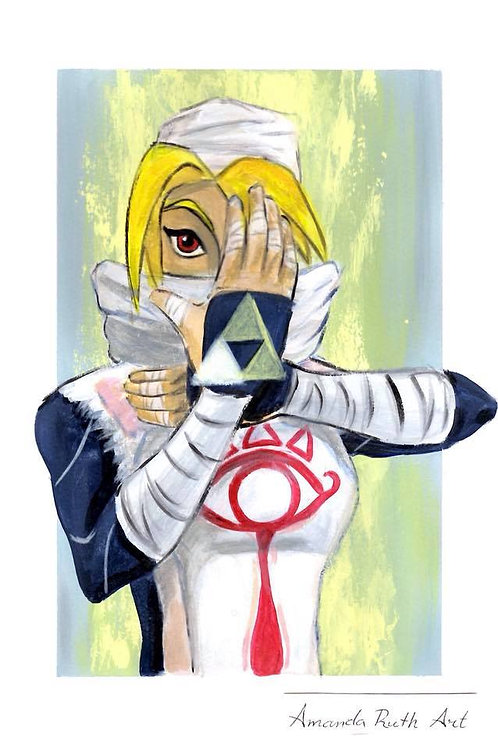 Sheik - Original Painting