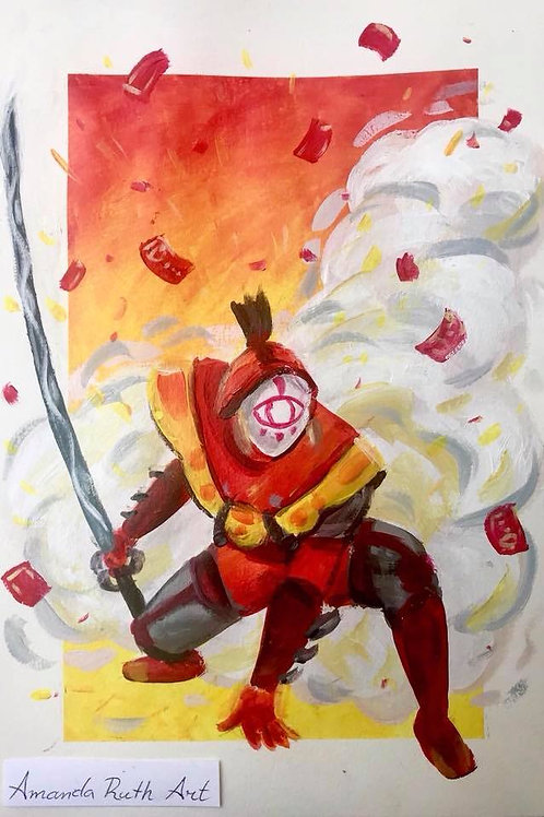 Yiga Blademaster - Original Painting