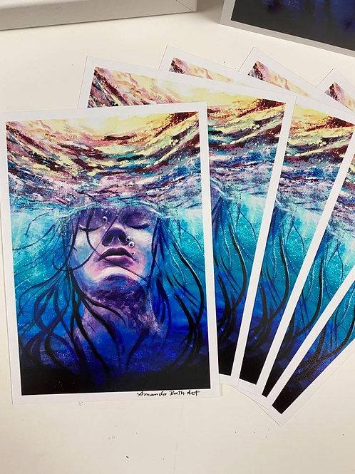Drowning - Art Print
