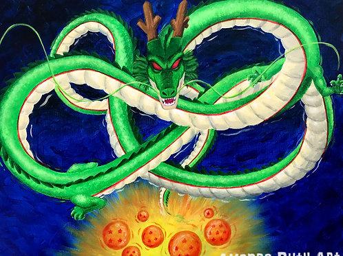 Shenron Painting - $125