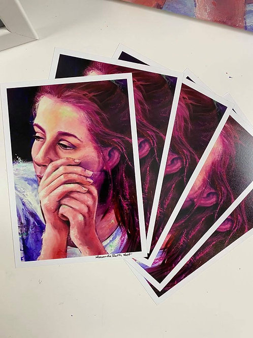 Tired - Art Print