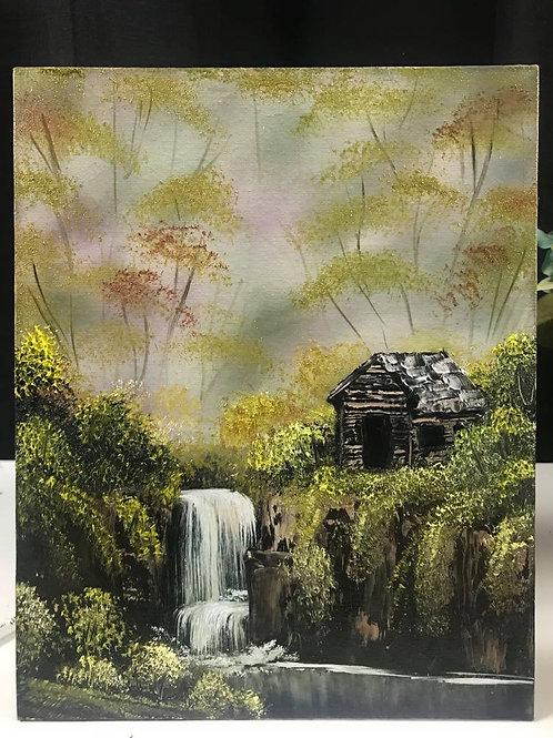 """Small """"Deep Wilderness Home"""""""