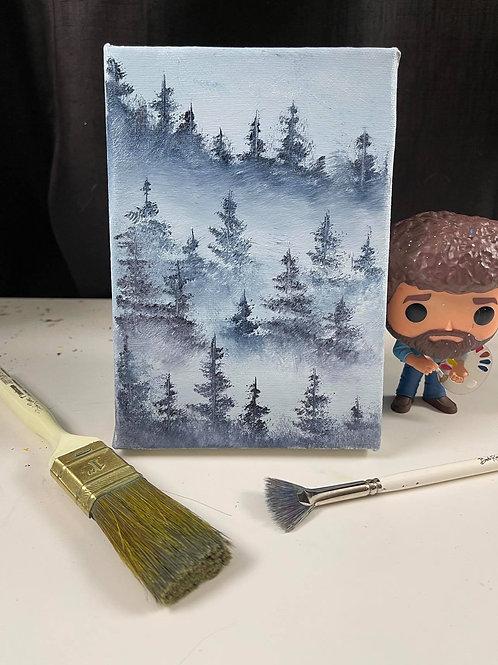 Small Misty Trees