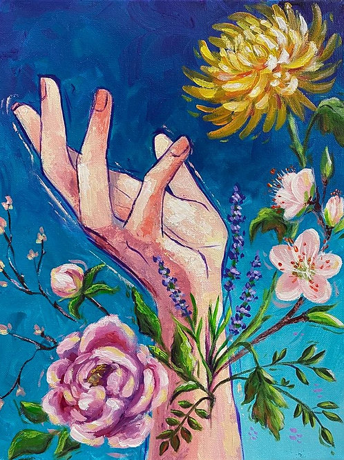 New Life Original Painting - $150