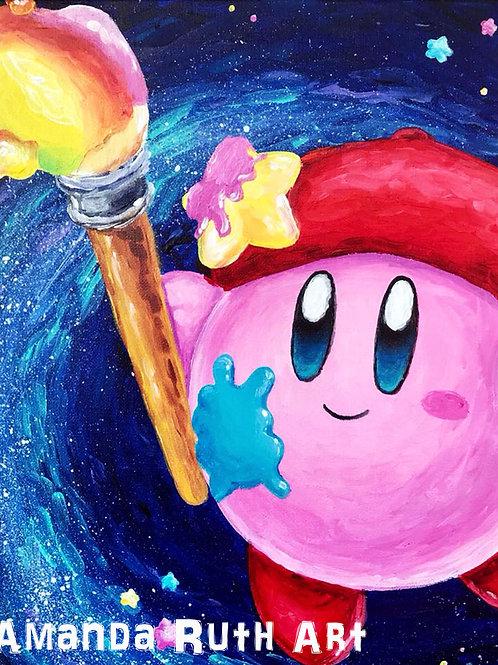 Kirby Artist Original Painting - $150