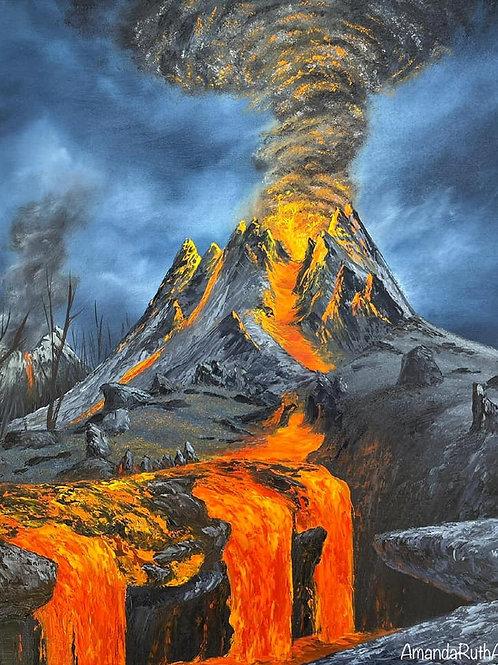 Volcano from Monster Hunter Rise