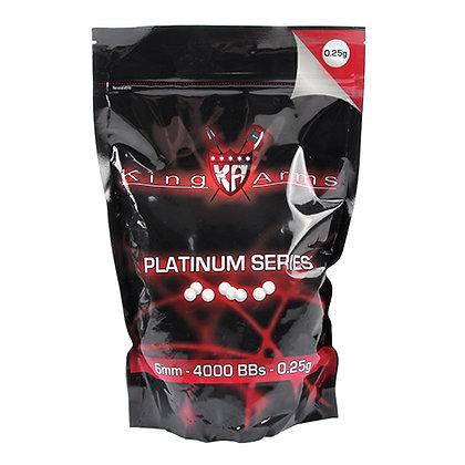 Platinum Series 6mm Balines 0.25g/ 1KG (4000R)BBs