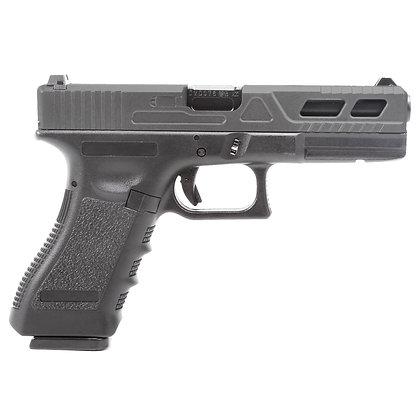 Réplica Glock17 King Arms Custom III Black3