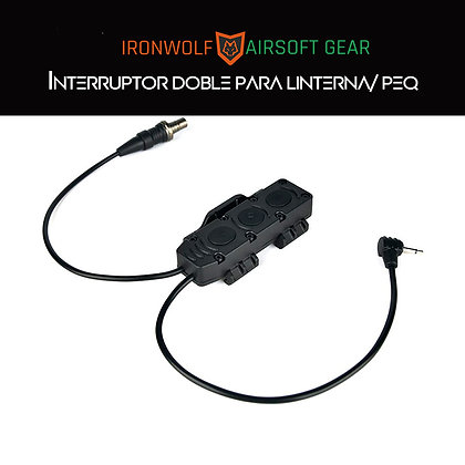 Interruptor doble linterna/peq