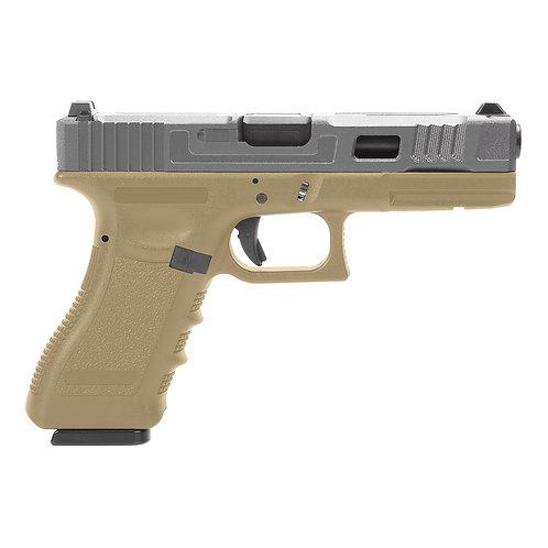 Réplica Glock17 King Arms Custom II Black5