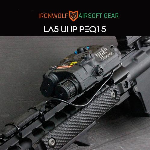 LA-5 UHP Peq 15 Element laser verde