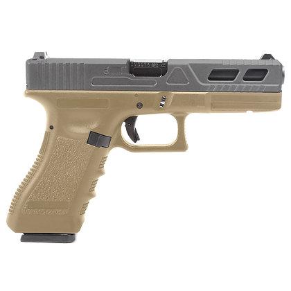 Réplica Glock17 King Arms Custom III Black4