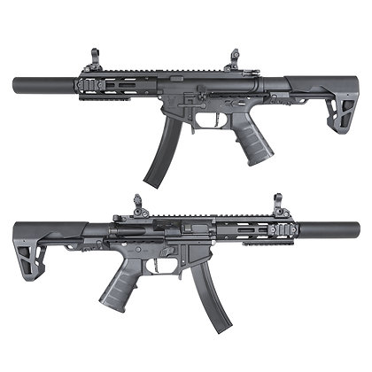 King Arms PDW 9mm SBR SD - Black Edition