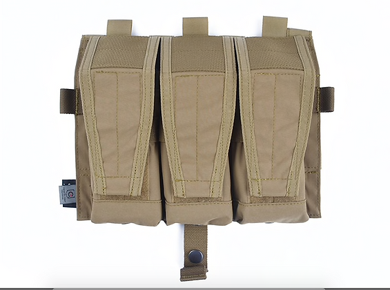 Triple M4 mag pouch Twinfalcons CB