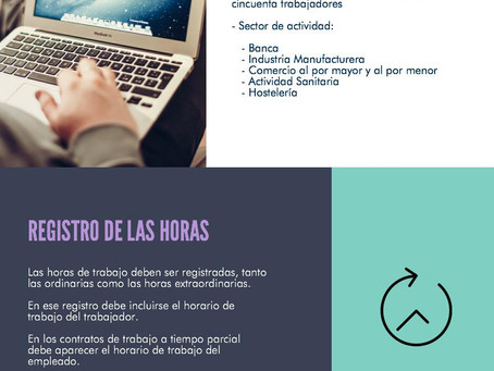 #Infografía El Control de las horas