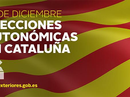 Permisos para la concurrencia de las elecciones al Parlamento de Catalunya del próximo 21 de Diciemb