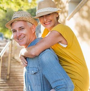 Happy-mature-couple-having-fun-in-the-ci