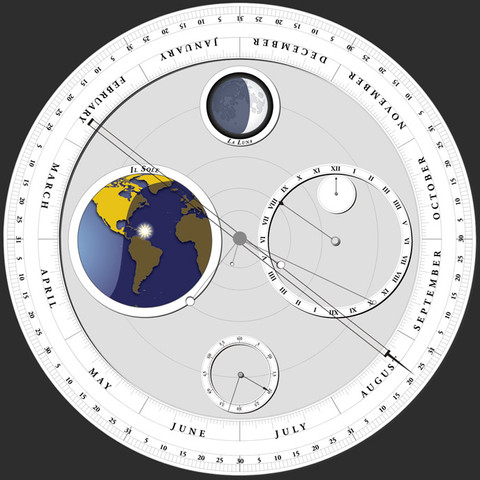 Galileo's Celestial Calendar