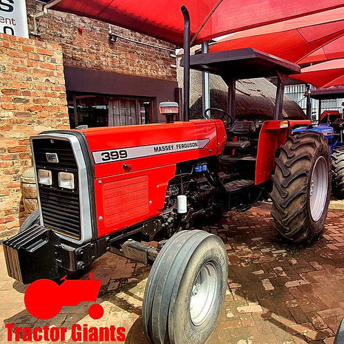 Massey Ferguson 399 Logger Tractor