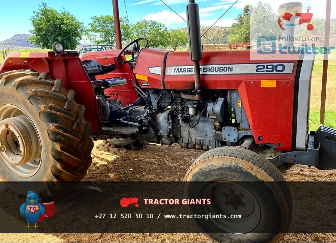 Massey Ferguson 290 tractor for sale- t5