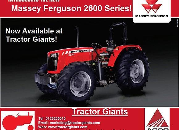 New Massey Ferguson 2640 4x4