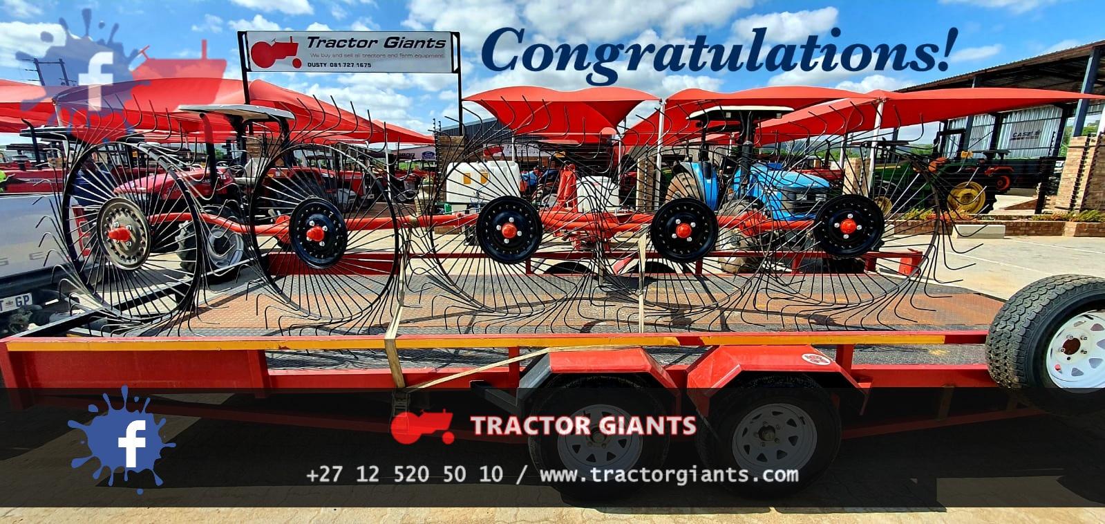 Hay Rake for sale tractor giants