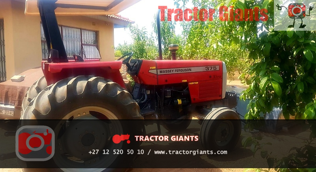 Massey Ferguson 375 tractor for sale - T