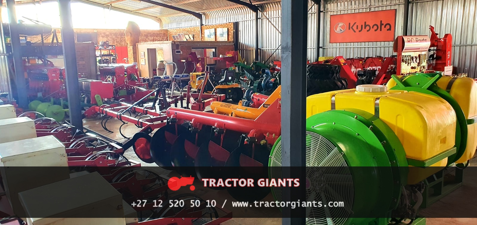 Farming Implements - Tractor Giants