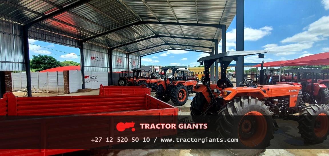 Kubota Tractors - Tractor Giants